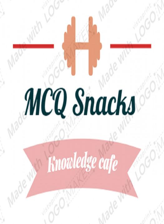 """MCQ Snacks """"Mini Gt- 1 """" ( 05/10/2019)"""
