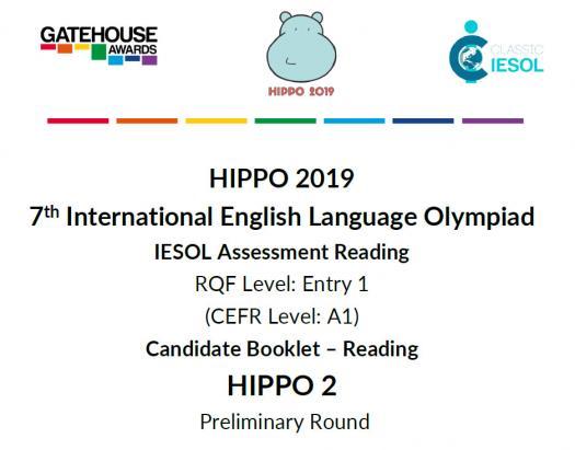 Hippo 2 CEFR A1 - Reading