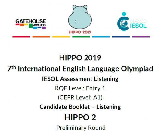 Hippo 2 CEFR A1 - Listening