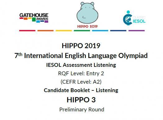 Hippo 3 CEFR A2- Listening