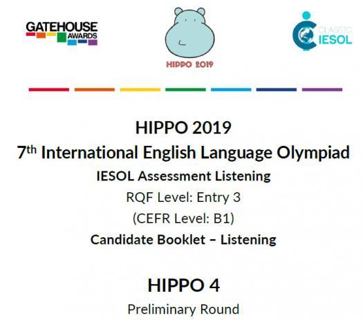 Hippo 4 CEFR B1- Listening