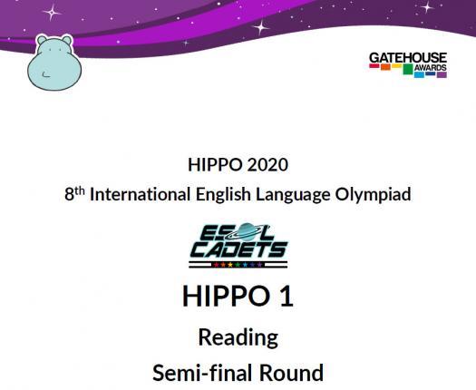 Hippo 1 Semi-final Reading 2020
