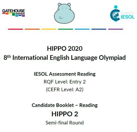 Hippo 2 Semi-final reading 2020