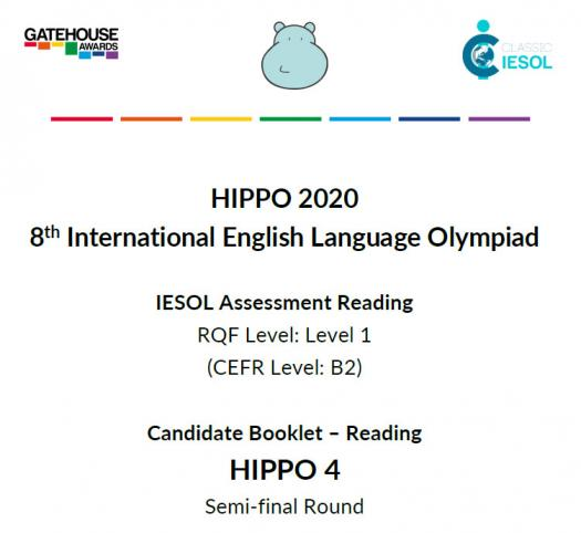 Hippo 4 Semi-final Reading 2020