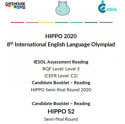 Hippo S2 Reading Semi-final 2020