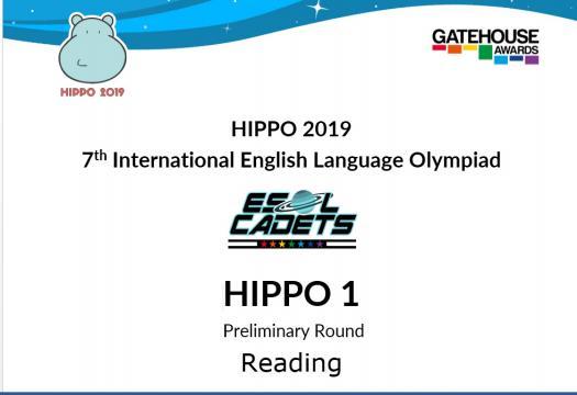 Hippo 1 - Reading