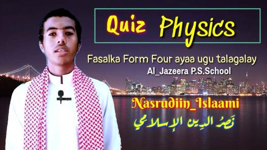 Imtixaan Maadada Physics_ Al_jazeera Primary & Secondary