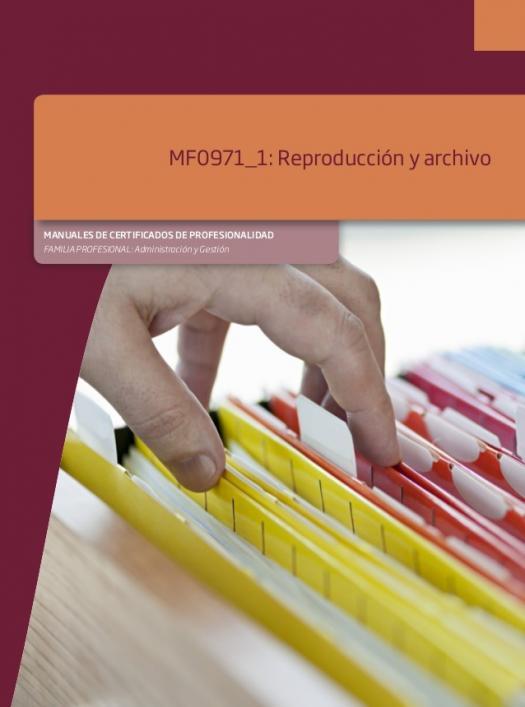 M�dulo 1 - Reproducci�n Y Archivo Operaciones De Grabaci�n Y Tratamiento De Datos Y Documentos Adgg0508