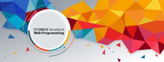 Dfw6013 Security Web Programming