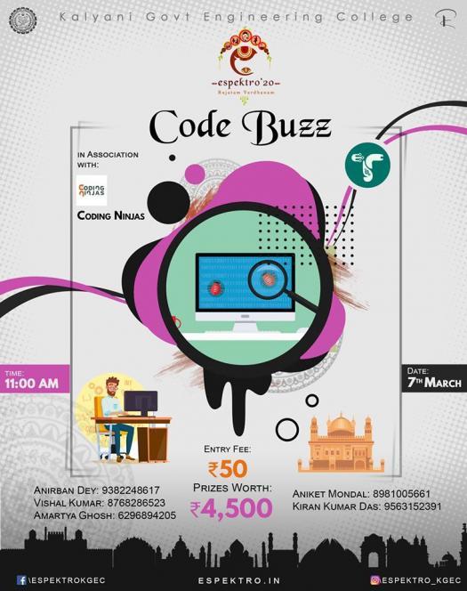Code Buzz (Language : C)