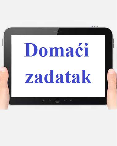 Domai Zadatak - Prva Grupa (25/3/2020)