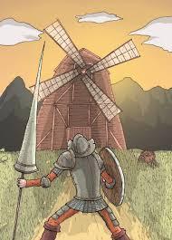 Don Quijote - Gigantes CON Aspas
