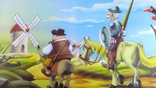 Don Quijote- Gigantes CON Aspas 2