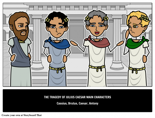 Which Julius Caesar Character Are You?