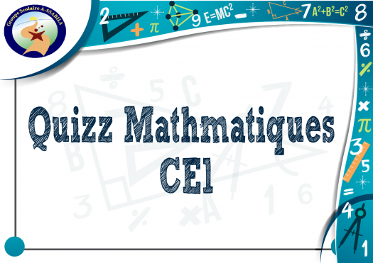 Quizz Math�matiques De Niveau Ce1