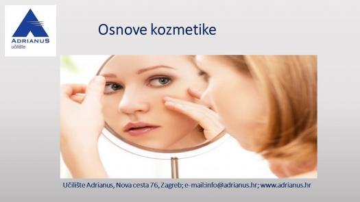 Adrianus Kviz Znanja- Osnove Kozmetike