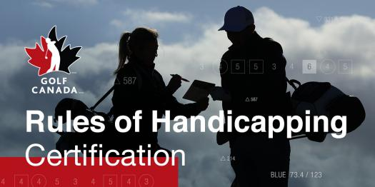 Rules of Handicapping Certification
