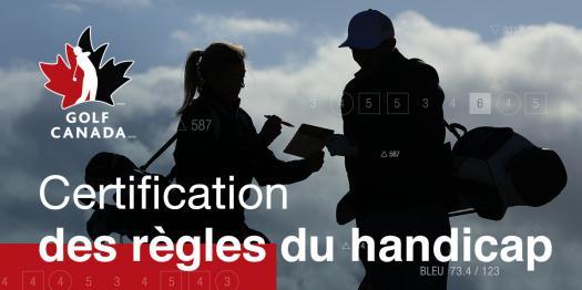 Certification des Règles du Handicap