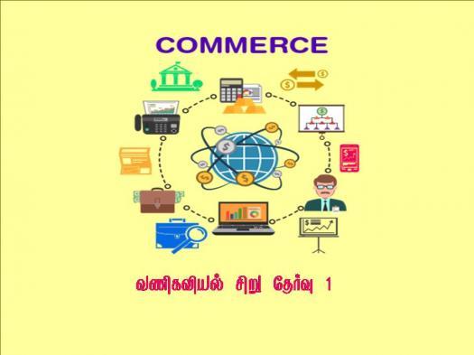11th Commerce Quiz 1