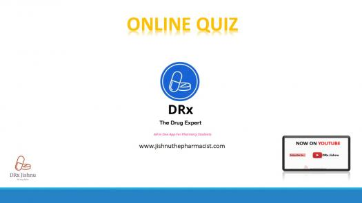 Pharma Quiz By Drx