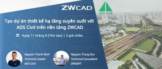 Thit K H Tng Ads Civil Tr�n Zwcad