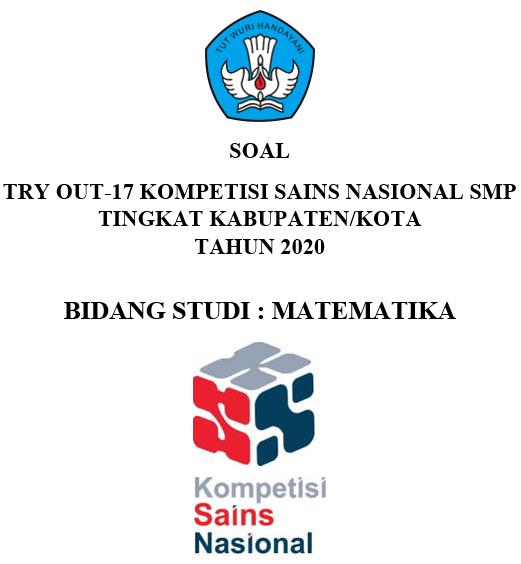 Try Out 17 Ksn-k Matematika Smp