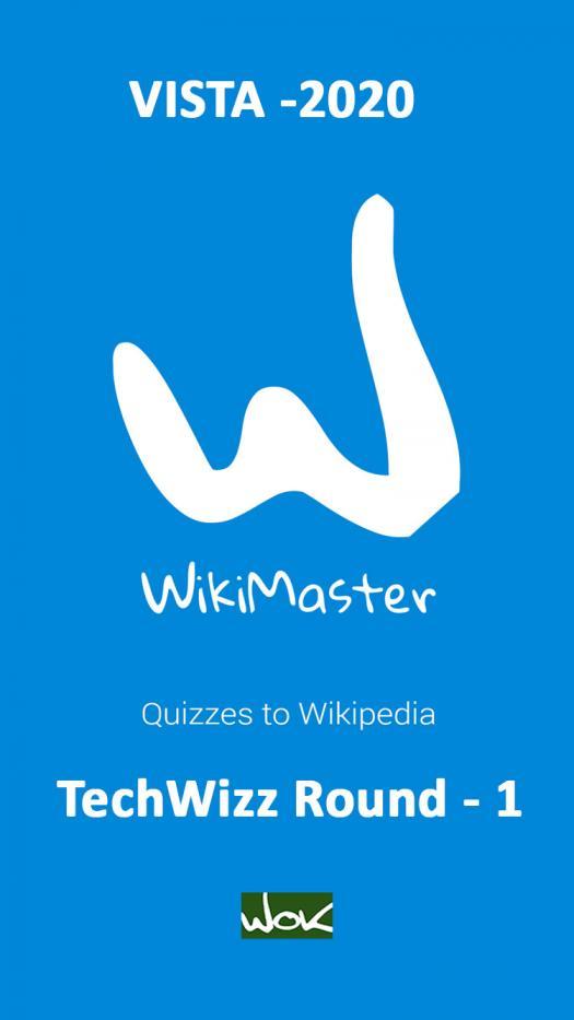 Vista 2020 Techwizz (Round -1)