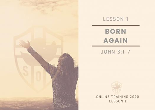 Worksheet For Lesson 1 : Born Again