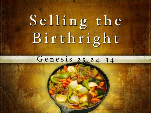 Genesis 25-26