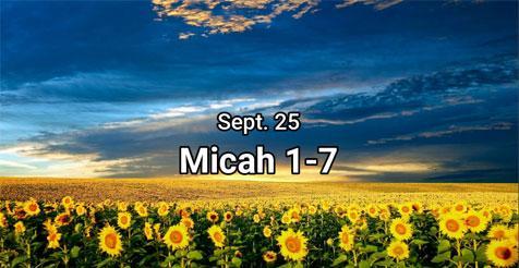 Micah 1-7, Erv (Easy To Read Version)