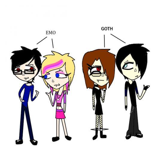 Goth Vs Emo