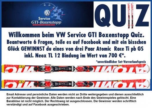 Vw Service Gti Boxenstopp Quiz