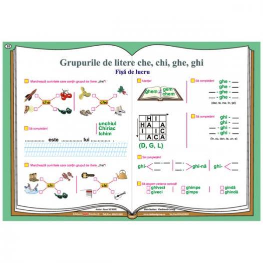 Grupurile De Litere (ce, Ci, GE, GI, Che, Chi, Ghe, Ghi)