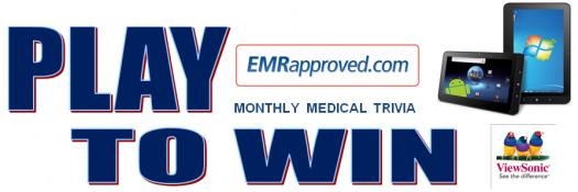 Emrapproved Monthly Medical Trivia! Play To Win!