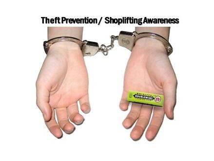 NEW25 AIC $90 52 Hr Shoplifting AWARENESS/ Petit Larceny/ ANTI-THEFT COURT ORDERED CLASSES SHOP10+NH+Dec01+A04+BCK12+GS