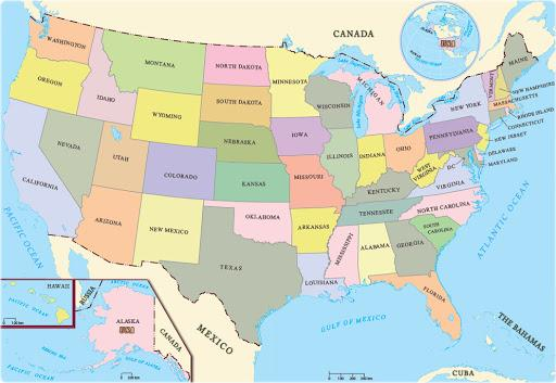 The United States Of America Quiz