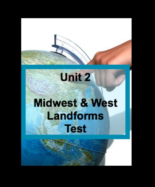 Etheredges Unit 2 Midwest And West Landforms Test