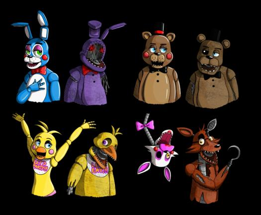 Which Five Nights At Freddy