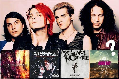 which my chemical romance album are you proprofs quiz