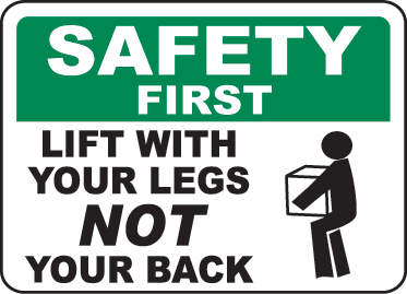 Safe Lifting Online Quiz