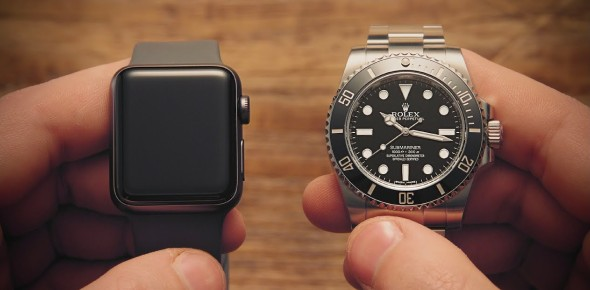 Should I buy Rolex or Apple Watch?