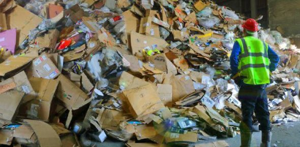 What are the major challenges faced by the recycling industry?