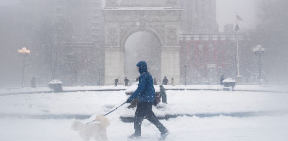 What causes hurricanes in cold cities?