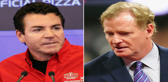 Why did Papa John stop sponsoring the NFL?