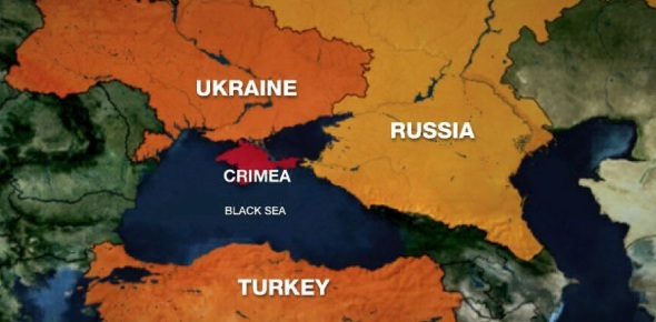 Which country controls Crimea?