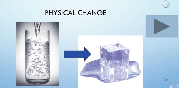 What Is An Example Of Physical Change Proprofs