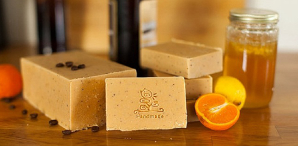 How do you make homemade soap?