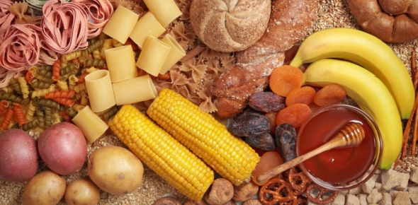 What is the primary function of carbohydrate in the diet?