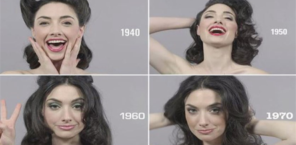 How have standards of beauty changed over the years?