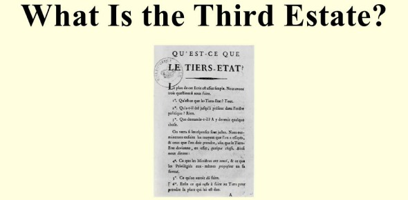 What did members of The Third Estate have before the revolution?